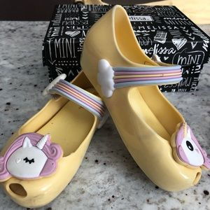 Mini Melissa Ultragirl Unicorn Shoes